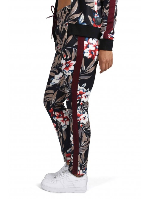 Pantalon de jogging imprimé tropical Femme Project X Paris