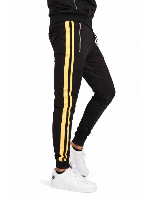 Pantalon de jogging à doubles bandes Homme Project X Paris