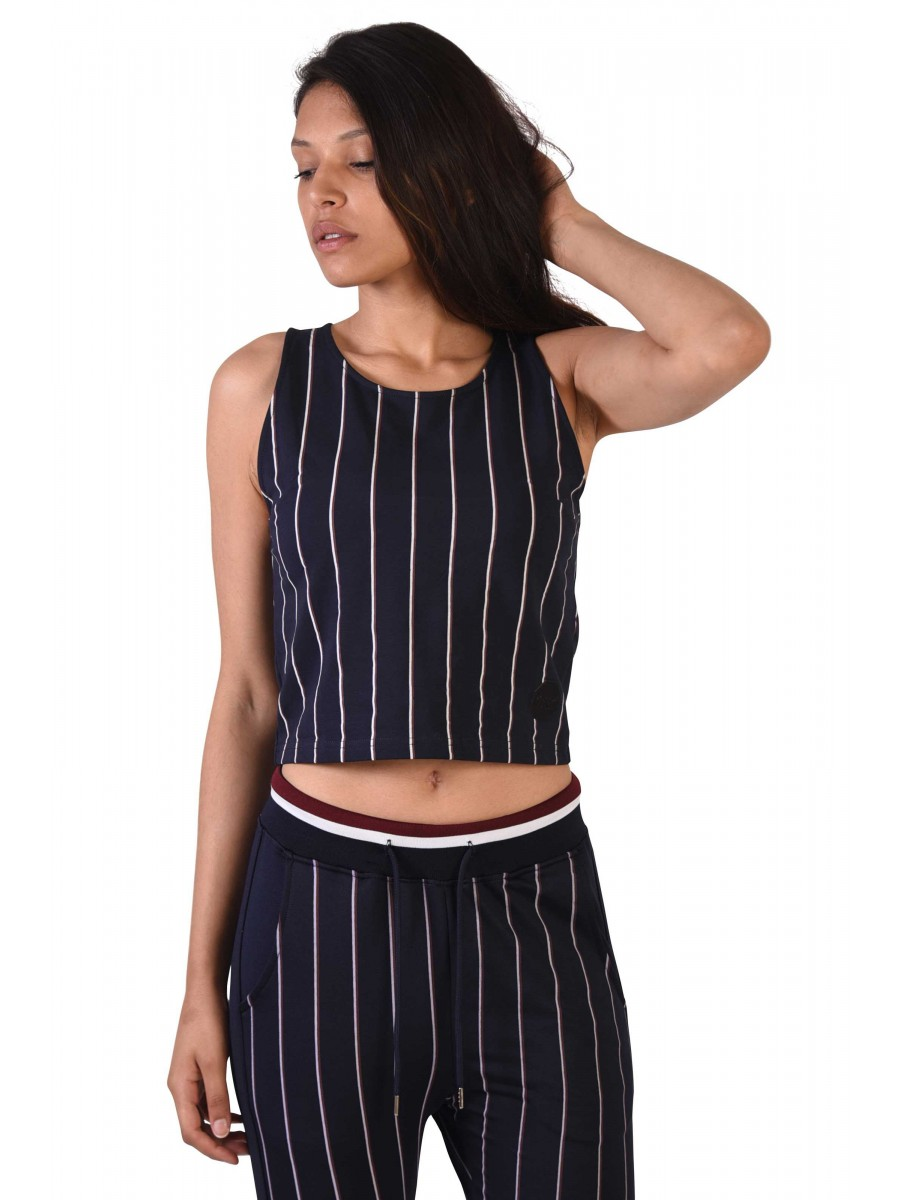 854864d6526 Women s Striped Crop Top Project X Paris