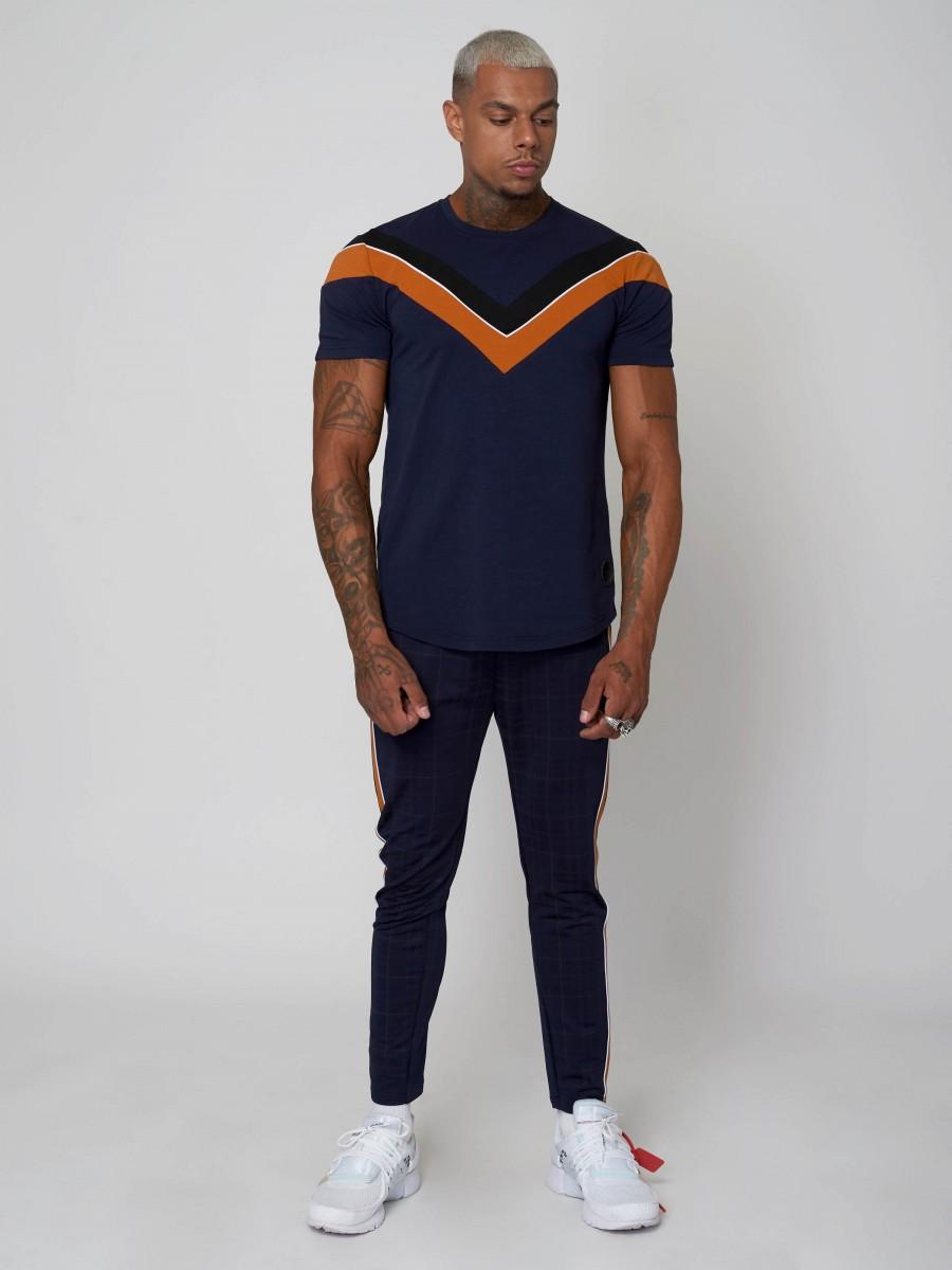 2170d4e2757 Tee shirt color block doubles V Homme Project X Paris