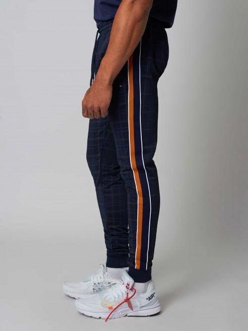 Pantalon de jogging à bandes colorées Homme Project X Paris