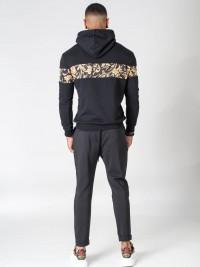 Baroque print hoodie Project X Paris
