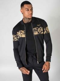Zip-up baroque pattern jacket Project X Paris