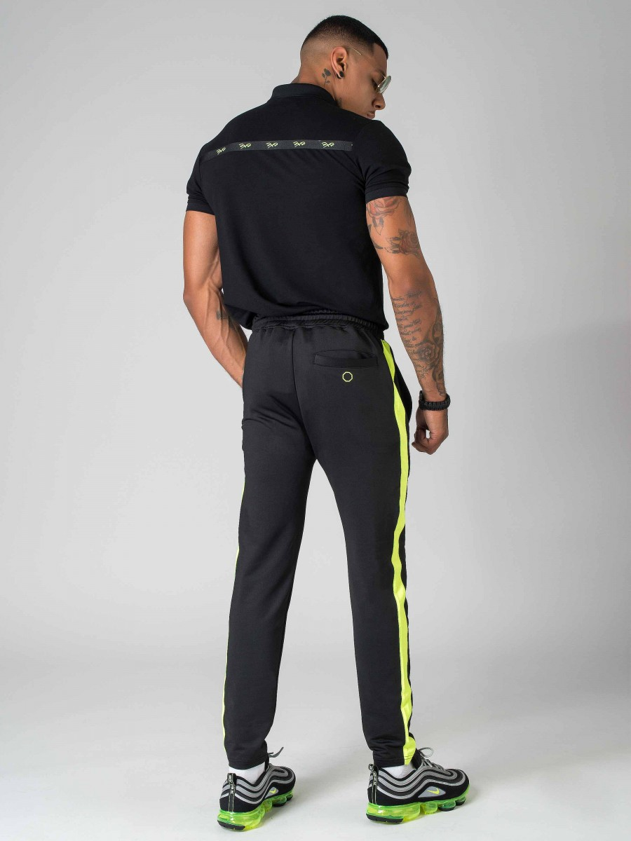 Project X Pantalon de jogging à bandes fluo Homme Paris