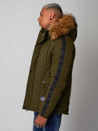 Parka with stripes Project X Paris