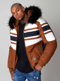 Parka courte biker Homme Project X Paris