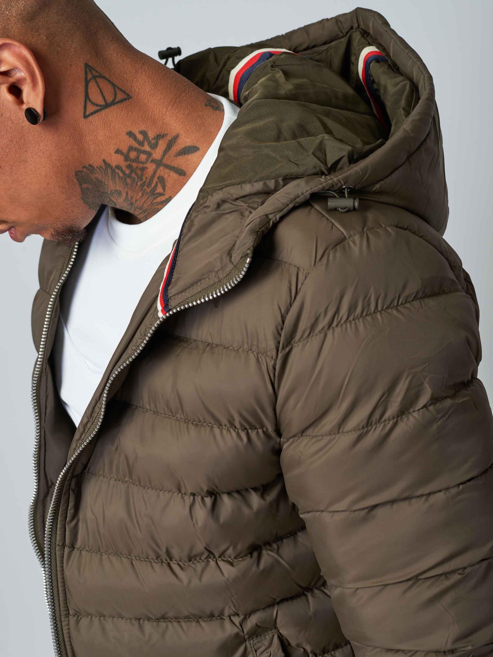 06f573157 Men's Tricolor Striped Puffer Jacket Project X Paris