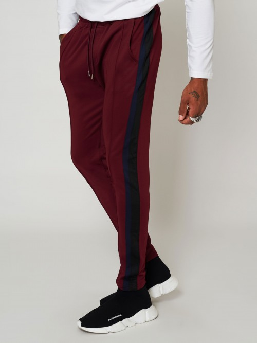 Pantalon de jogging à bandes contrastés Homme Project X Paris