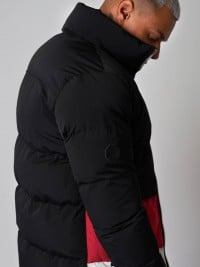 Short puffer jacket with stand-up collar Project X Paris