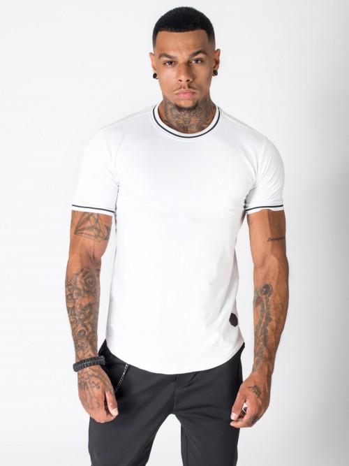 Tee shirt avec bords contrastées Homme Project X Paris