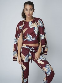 Bomber jacket with exotic print Women Project X Paris
