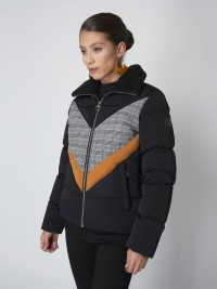 Contrast-print puffer jacket Project X Paris Women