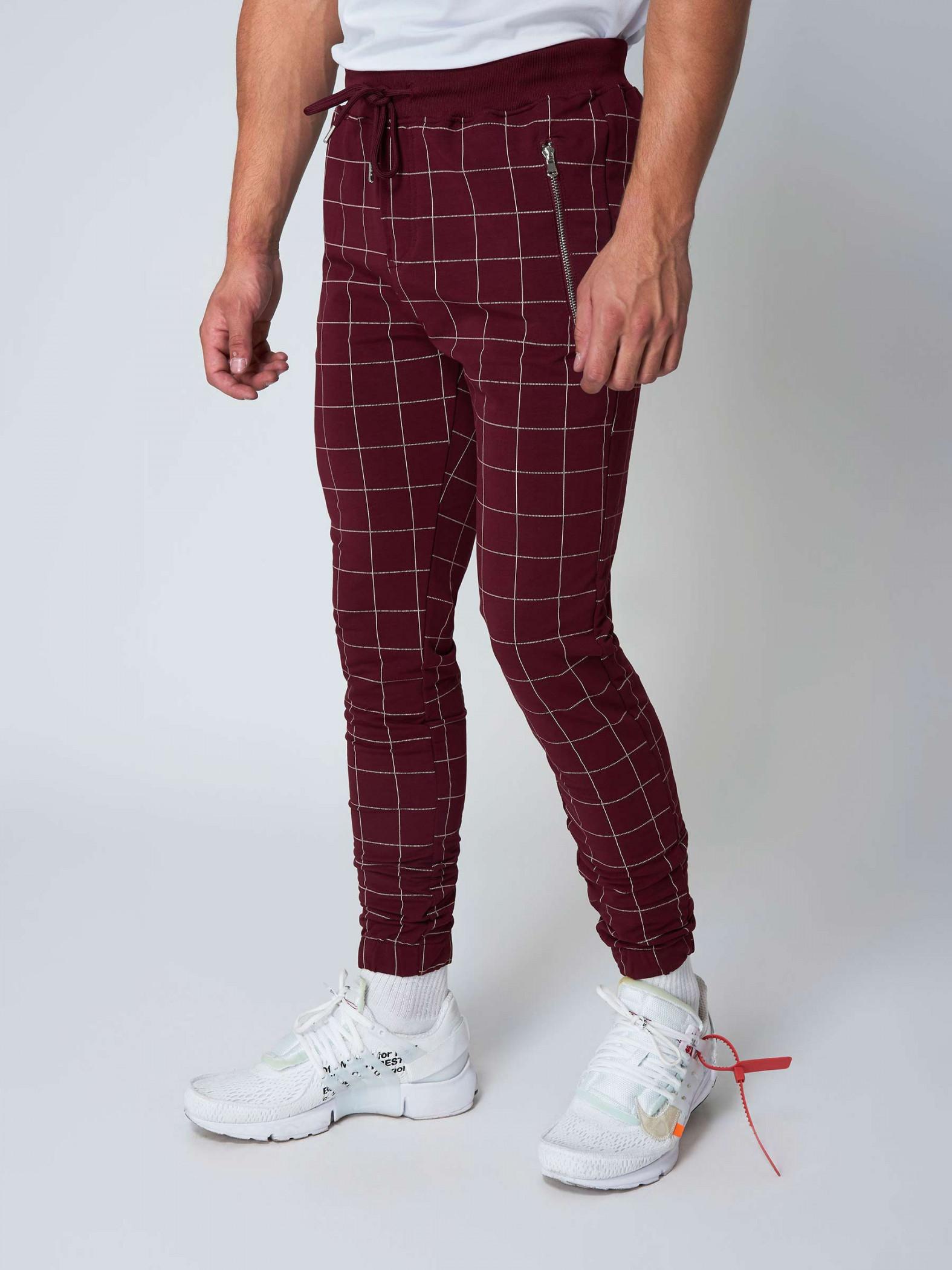 pantalon de jogging imprim gros carreaux homme project x. Black Bedroom Furniture Sets. Home Design Ideas