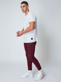 Pantalon de jogging imprimé gros carreaux Homme Project X Paris
