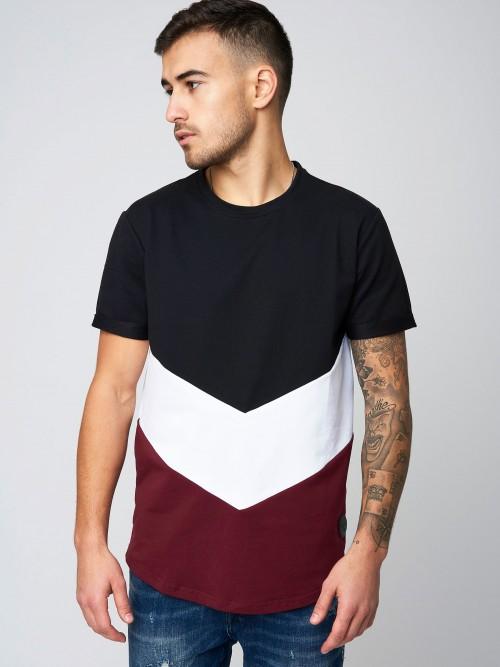 Tee shirt color block Homme Project X Paris