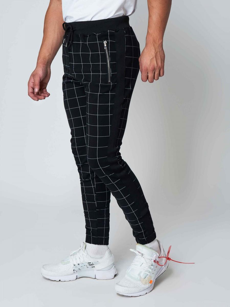 e5e7adfa155 Pantalon de jogging imprimé gros carreaux Homme Project X Paris