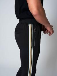 Joggers pants with gold stripes Project X Paris