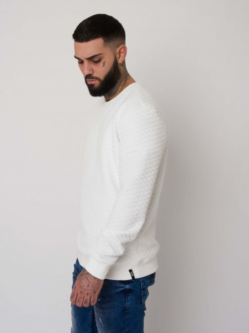 Sweat molleton gauffré Homme Project X Paris