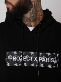 Hoodie logo rectangulaire liberty Homme Project X Paris