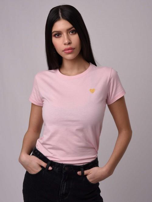 T-shirt cœur brisé Femme Project X Paris