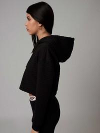 Hoodie crop top Femme Project X Paris