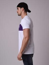 T-shirt manches courtes bicolore Homme Project X Paris