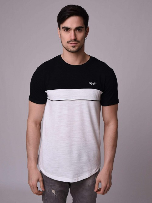 T-shirt bicolore Homme Project X Paris