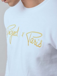 Sweat broderie logo gold Homme Project X Paris