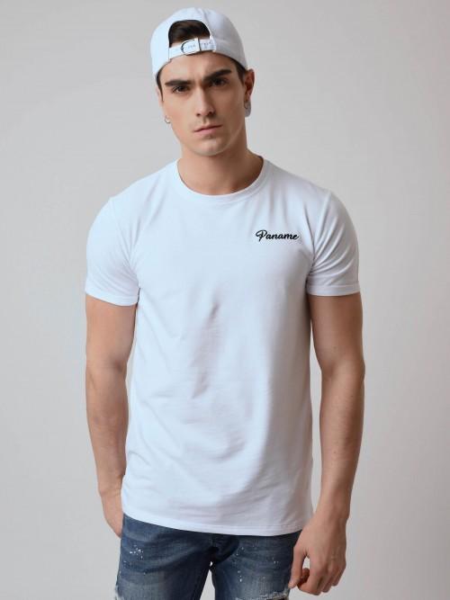 """T-shirt manches courtes avec broderie """"Paname"""" Homme Project X Paris"""
