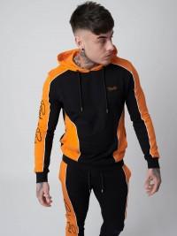 Pull à capuche en molletin fin bicolore Homme Project X Paris