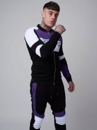 Veste col teddy esprit biker Homme Project X Paris
