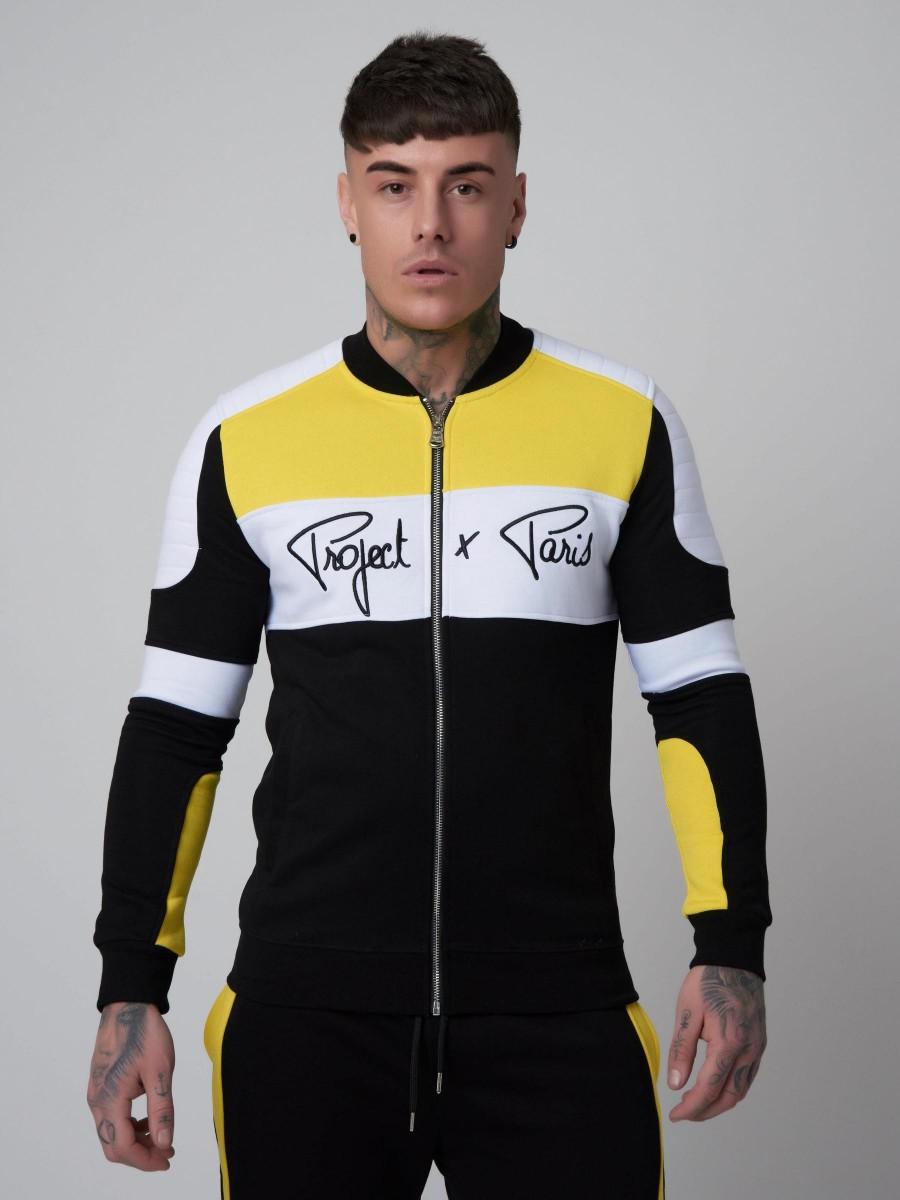 df81f35c864 Veste col teddy esprit biker Homme Project X Paris