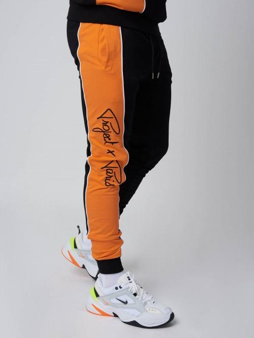 Pantalon de jogging logo sur le côté Homme Project X Paris