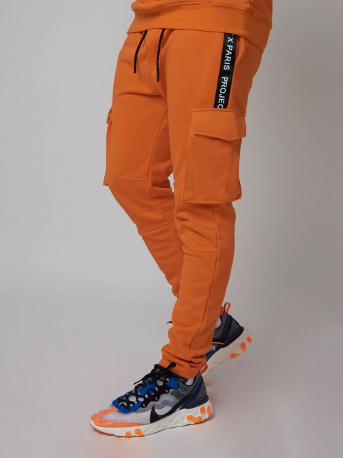 Pantalon de jogging style cargo Homme Project X Paris