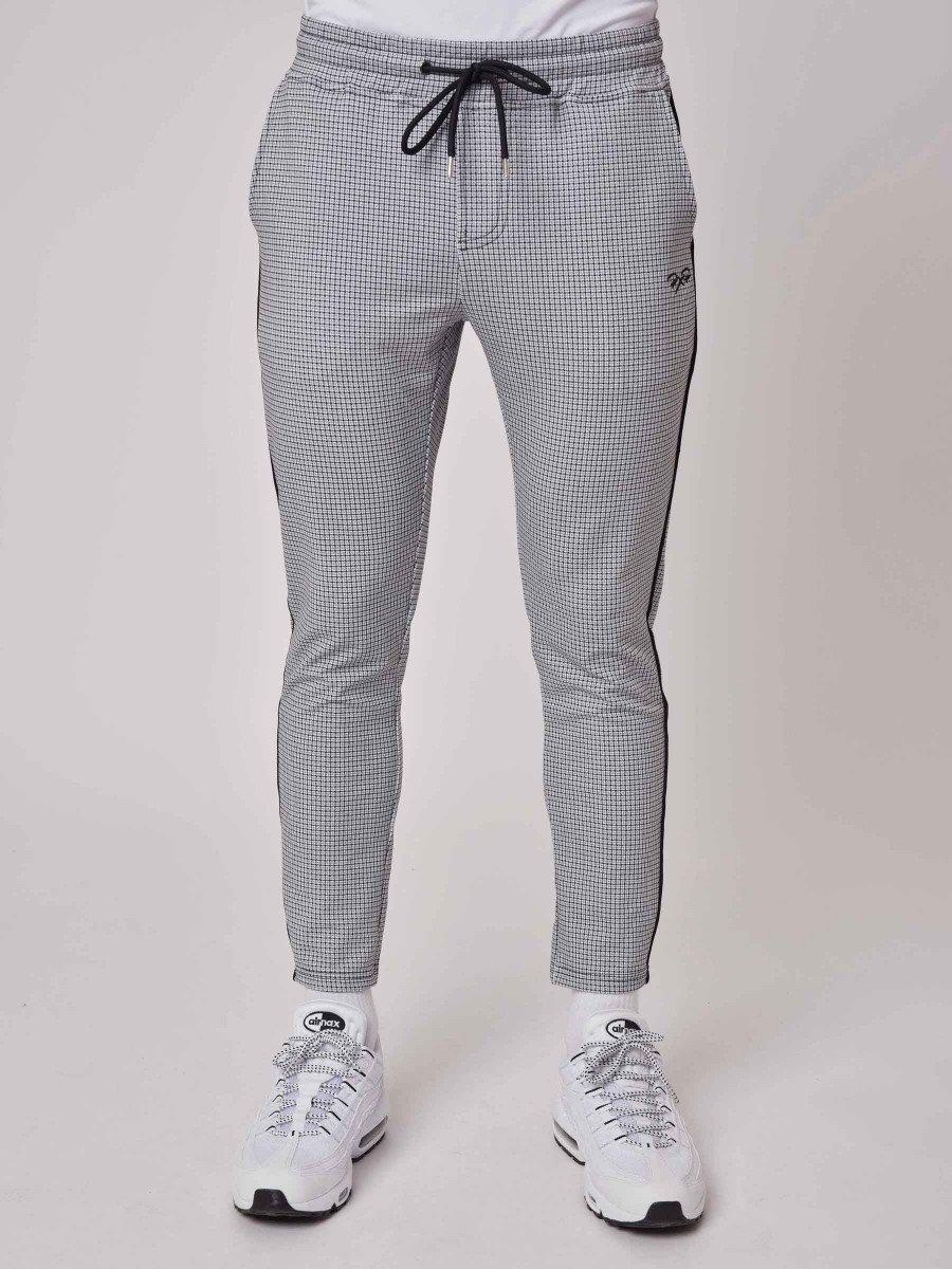 Pantalon slim à carreaux Homme Project X