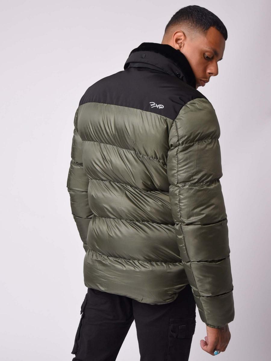 Two-tone Winter Aviator collar Jacket...