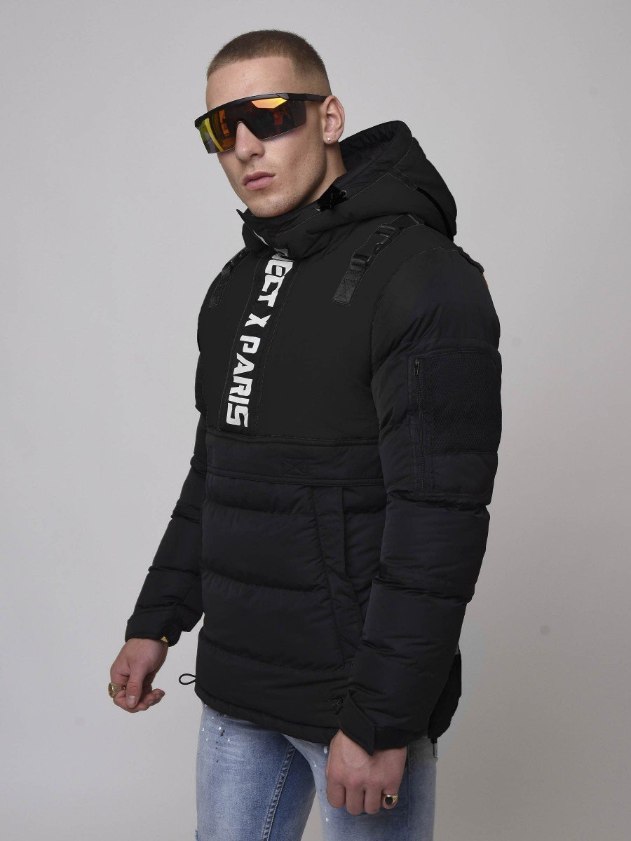 Tow-tone Anorak with Clips