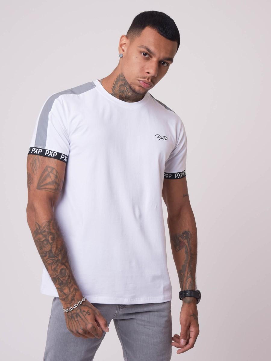 Tee-shirt bande réfléchissante épaule et élastique PXP