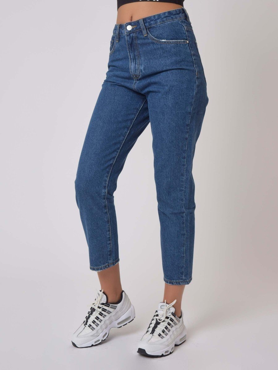 Cropped Basic Blue Jean