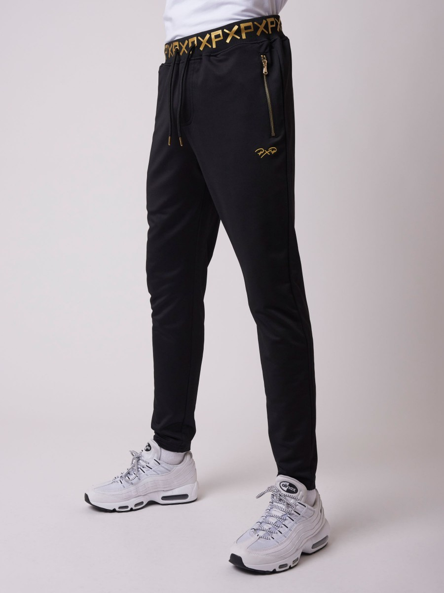 Jogger with Golden Writing