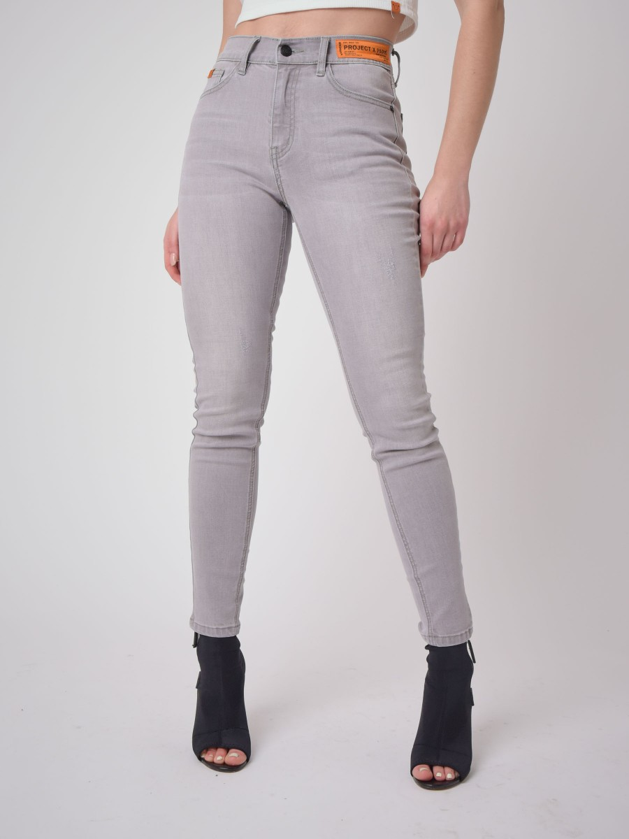 Skinny fit Jean with logo Label