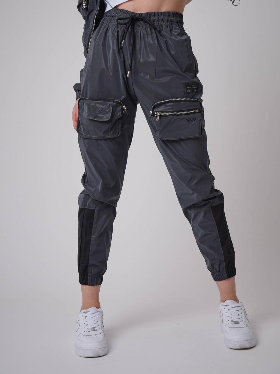 Reflect Embossed Pocket Pant