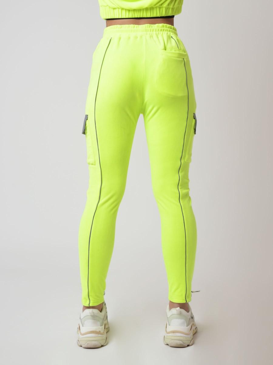 Cargo-style velvet jogger with...