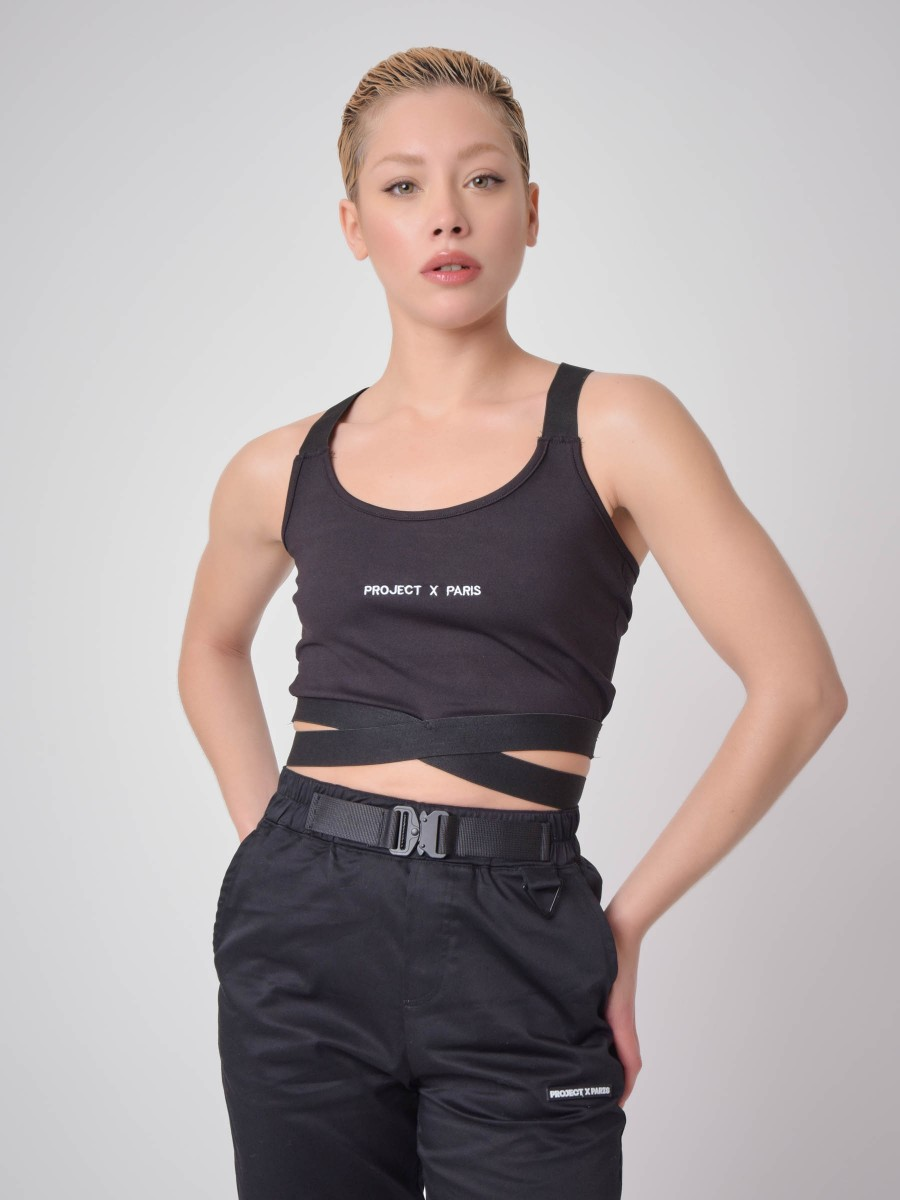 Elastic band Sports Bra
