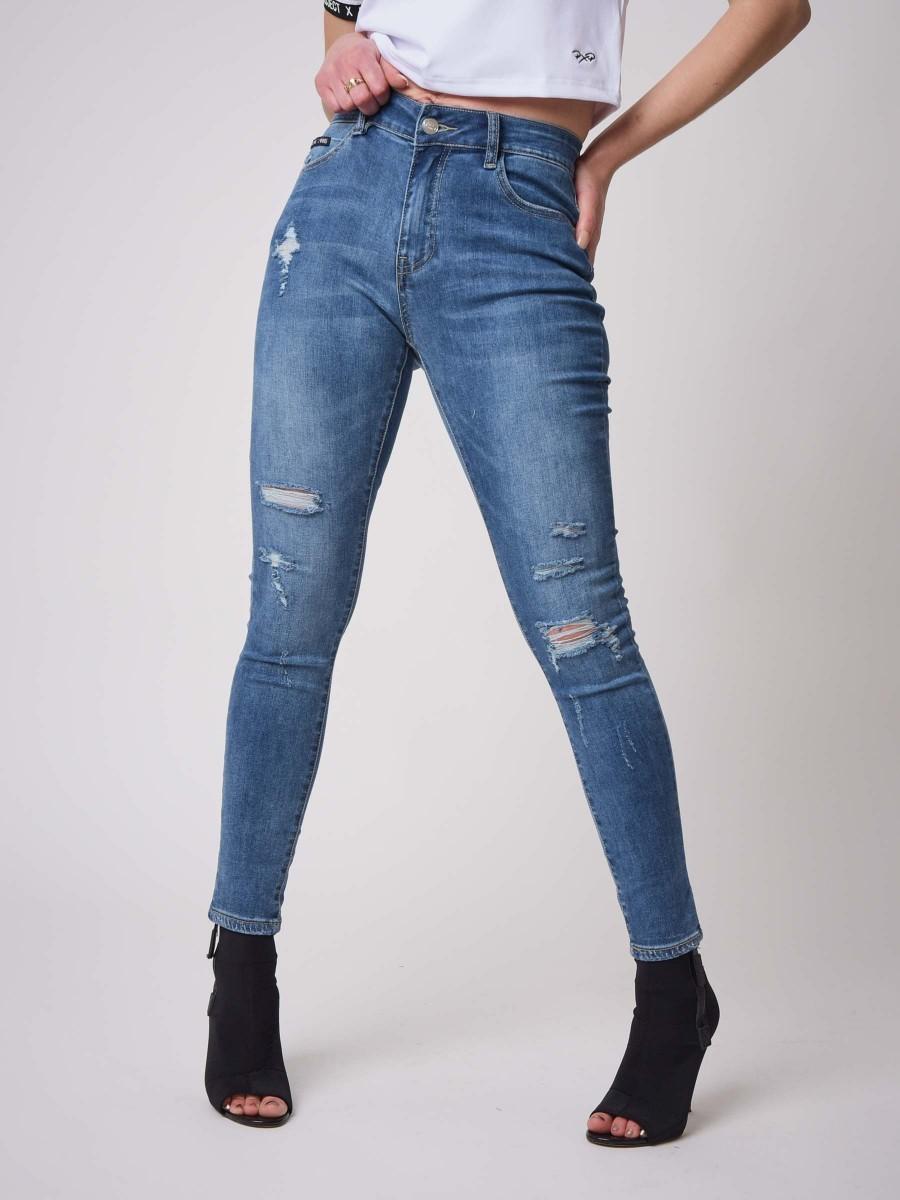 Worn effect Skinny Jean