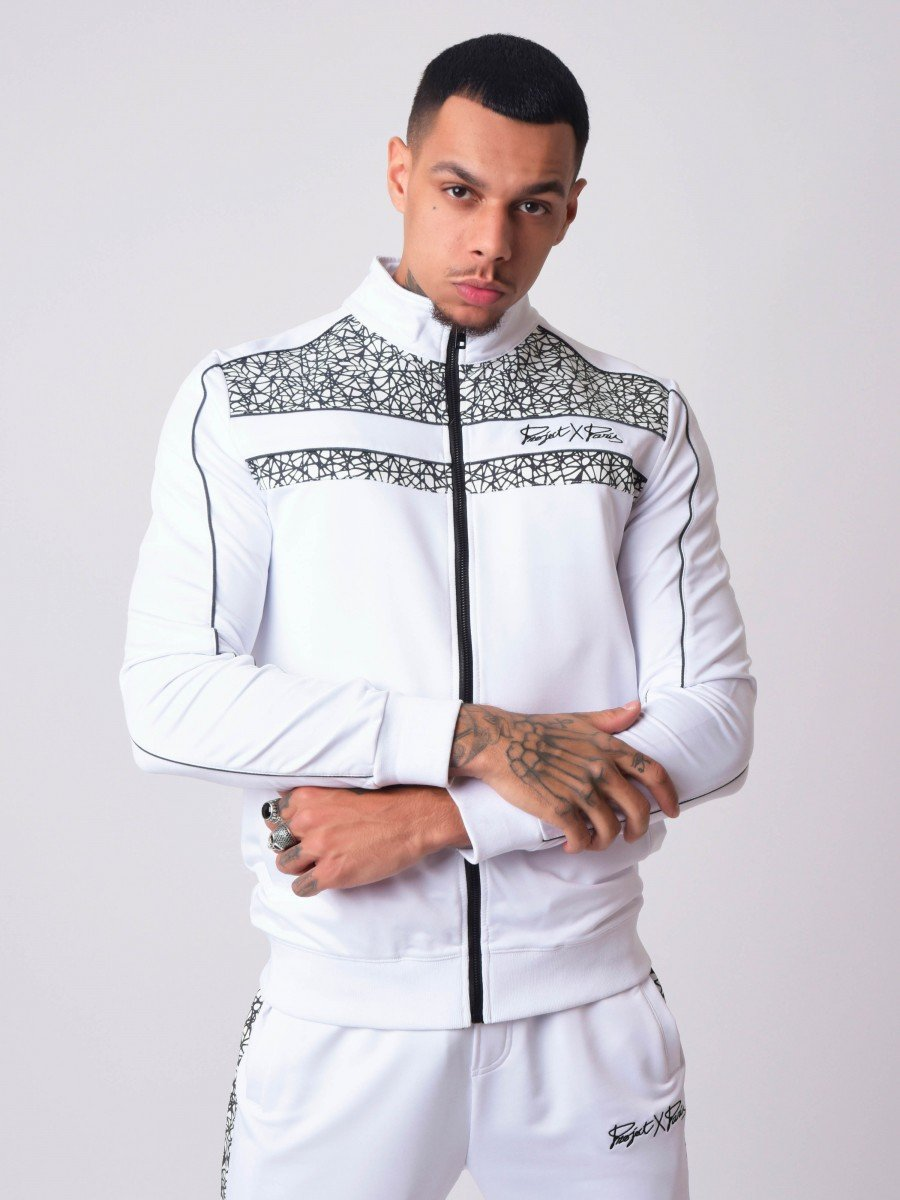 Funnel neck Jacket with Reflect...