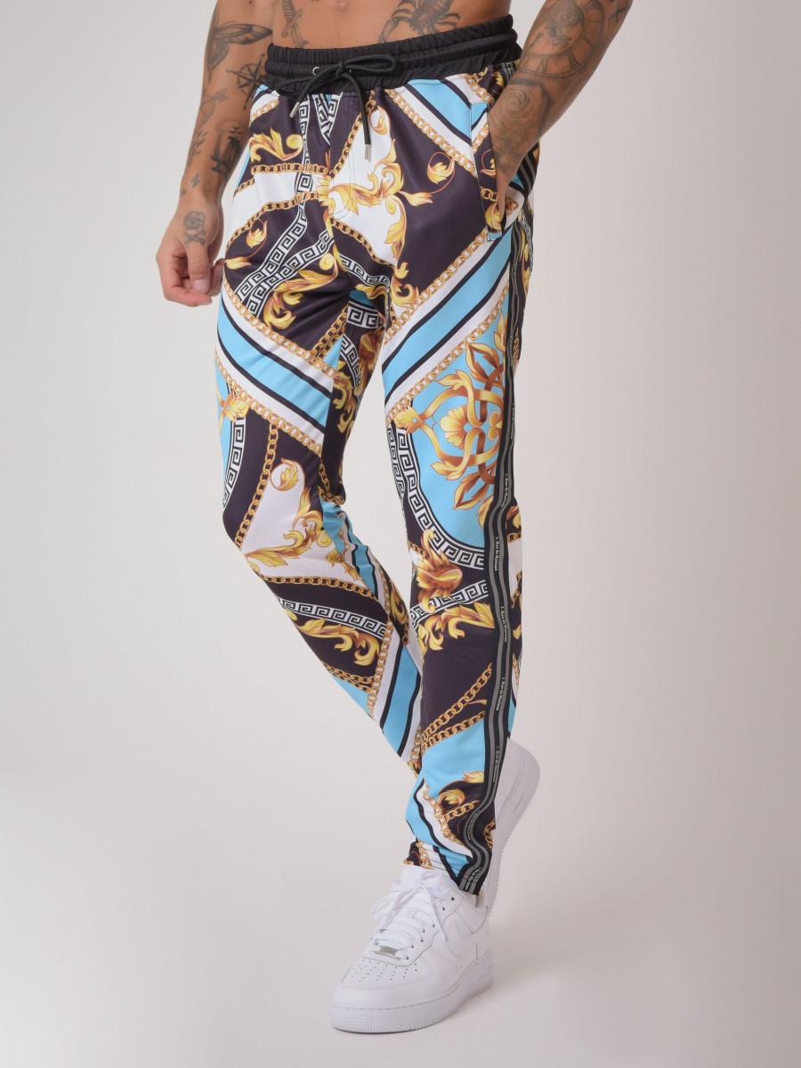 """Pantalon motif baroque """"Baba Collab"""""""