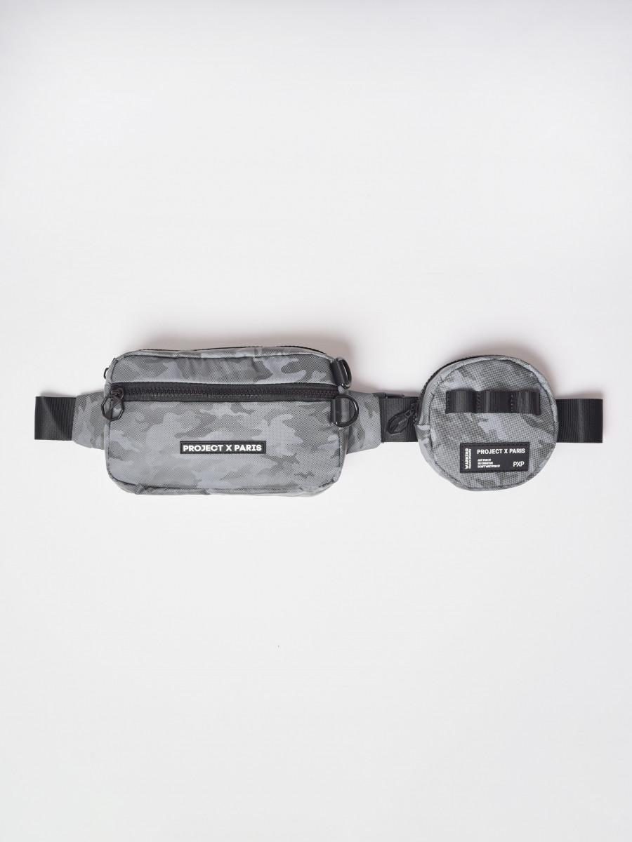 "Reflective camo Double Set Bumbag ""CAMO REFLECT"""
