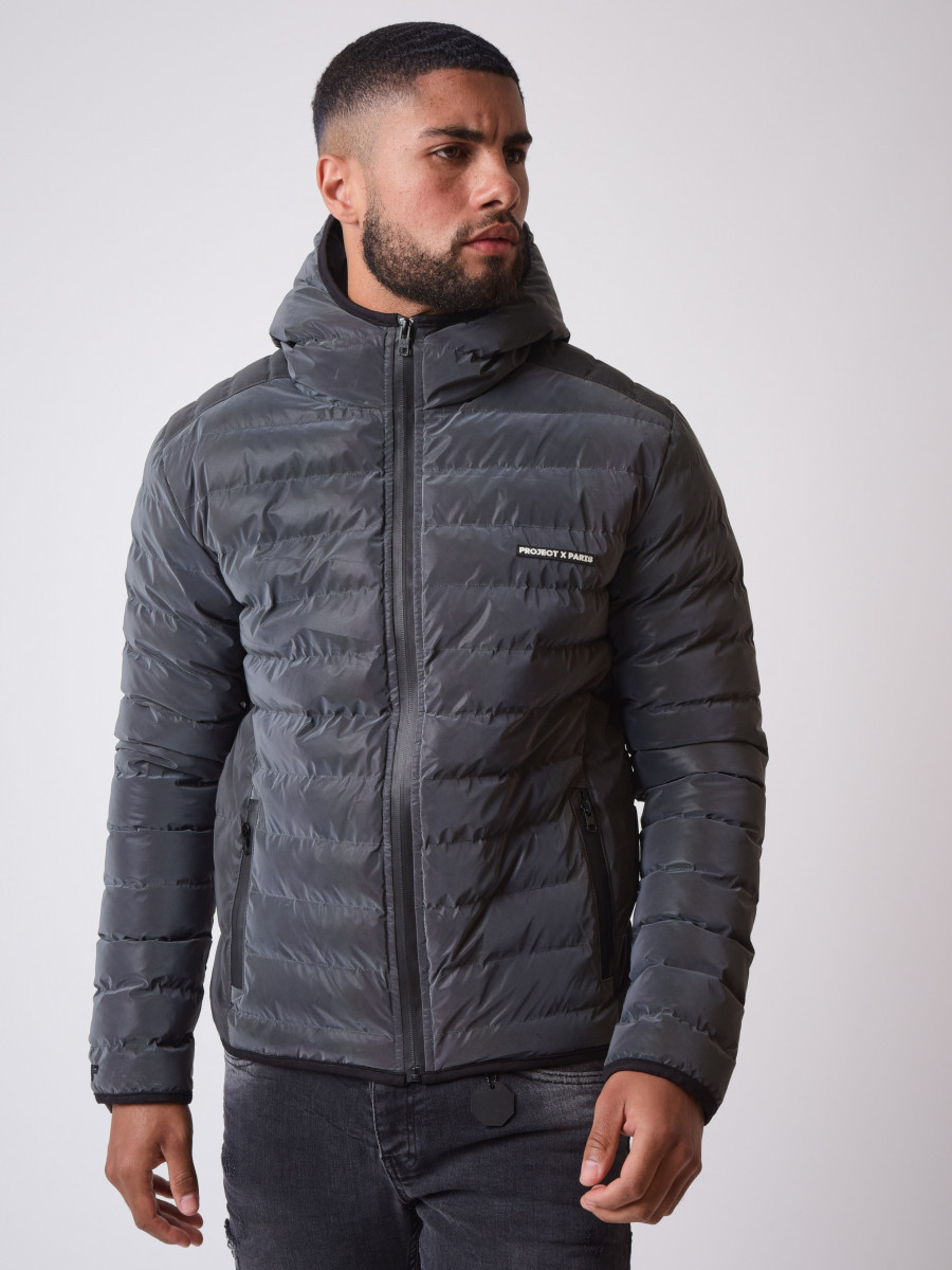 Quilted Reflective Winter Jacket