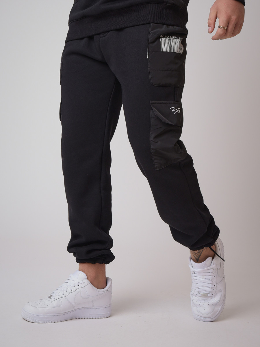 Quilted details Jogger